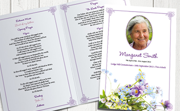 Funeral Stationery | S Gascoigne & Sons Funeral Directors | Birmingham and Solihull
